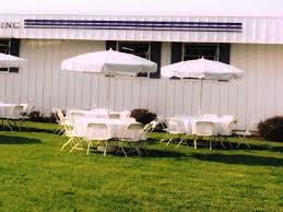 table rentals in philadelphia umbrella for table white vinyl 7 foot 6 inch rentals philadelphia pa