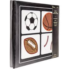 scrapbook albums sports post bound scrapbook album 12 x 12 hobby lobby 154278