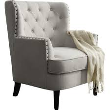 Tufted Accent Chair Accent Chairs Joss