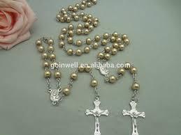 buy rosary 2017 bulk buy from china pearl rosary bracelets religious catholic