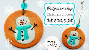 polymer clay cookie ornament tutorial