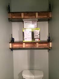 Bathroom Toilet Shelf by Full Bodied Shelves Bower Power