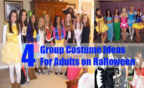 4 group costume ideas for adults on halloween bash corner