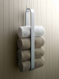 towel rack for rolled up towels towel