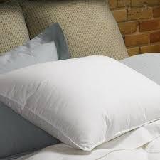 organic real down pillow