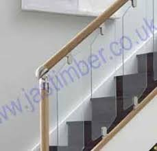 Richard Burbidge Handrail Richard Burbidge Fusion Clear Glass Stair Panels