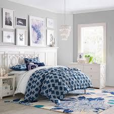 Twin White Bedroom Set - elsie bed set pbteen