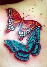 butterfly designs designs 7 back shoulder left