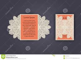 Wedding Invitation Greeting Cards Wedding Invitation Or Greeting Card With Vintage Lace Ornament