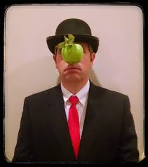 halloween costume 1 rene magritte painting