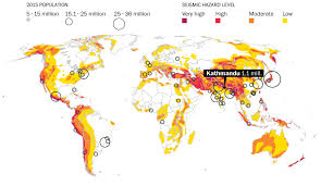 us geological earthquake map nepal s earthquake mapping its ripple effect across