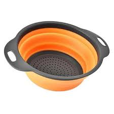 passoire de cuisine pliable pliable silicone passoire passoire cuisine fruit filtre