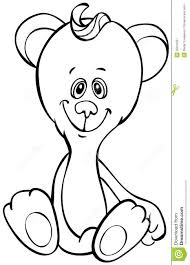 outline funny bear royalty free stock photography image 25616227