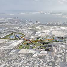 student work shrinking cities studio dusp mit iterative process of program development the site of a bygone oil refinery is transformed into a landscape park that incorporates a museum of baltimore
