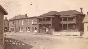 bureau de poste pr騅ost centreville et bureau de poste cbell s bay vers 1910 downtown