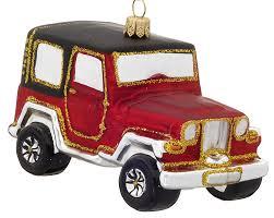 all terrain car jeep personalized ornament