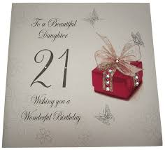 for a special daughter on your 21st birthday large card amazon
