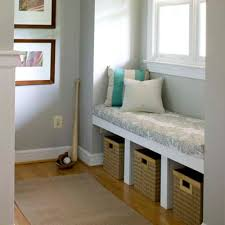 Simple Storage Bench Plans by Under Window Storage Bench Treenovation