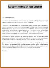6 example of recommendation letter sample of invoice