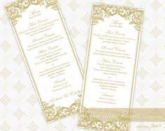 printable wedding menu editable vintage floral instant download
