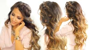 2 cute headband braid hairstyles quick u0026 easy hairstyle for