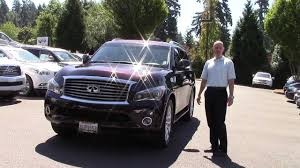 infiniti qx56 body style change 2011 infiniti qx56 deluxe touring package review we review the