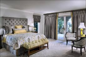bedroom wonderful curtains for yellow bedroom gray yellow and