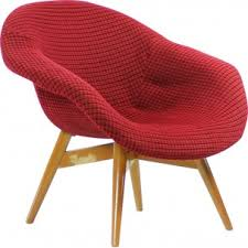 Red Armchair Red Mid Century Modern Furniture Design Market