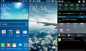 android 4 4 kitkat galaxy s4 kitkat firmware leaks with white status icons and other