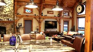 Timber Frame Home Interiors Timber Frame Home Tour Youtube