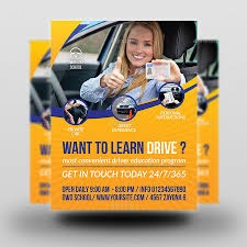 drive brochure template driving school flyer template by owpictures graphicriver