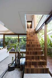 jacobsen architecture wood staircase bernardes jacobsen architecture staircases
