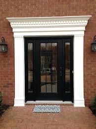 front doors front door trim idea 28 on exterior trim ideas
