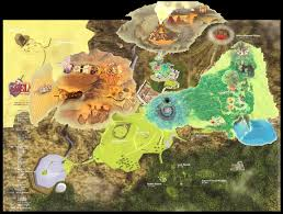 skyward sword map oot takes place in a hyrule theorizing universe