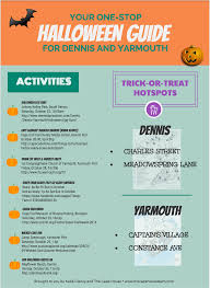 halloween in dennis and yarmouth cape cod