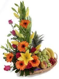 fruit flower basket fruit and flower baskets