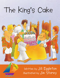 king cake where to buy sails emergent level magenta the king s cake big book