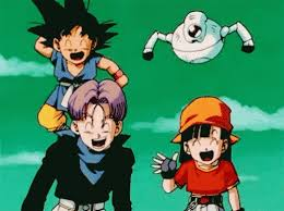 dragon ball gt laugh gif dragonballgt laugh anime discover