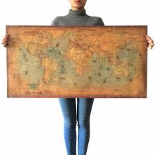 Design Home Map Online Online Buy Wholesale Map Vintage Wallpaper From China Map Vintage