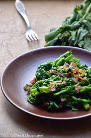 cuisiner des navets blancs cimes de navets blancs à la pancetta croustillante légumes