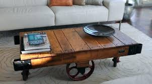 c table with wheels coffee tables with wheels blackboxauto co