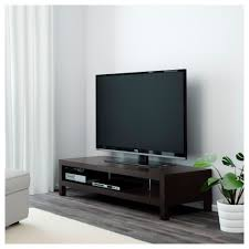 lack tv bench black brown 149x55 cm ikea