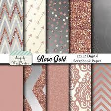 copper wrapping paper gold foil and glitter textures gold digital paper