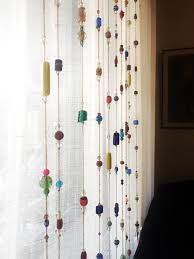 Beaded Window Curtains How To Make Beaded Curtains At Home Recyclenebraska Org