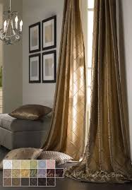 Silk Drapery Fabric By The Yard Colchester Diamond Pintuck Taffeta Faux Silk Fabric In Standard