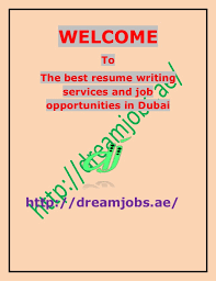 The Best Resume Writers by The Best Resume Writing Services And Job Opportunities In Dubai
