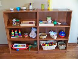 on a shelf montessori shelf montessori play activities