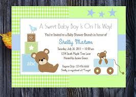 free printable baby boy shower invitation templates invitation
