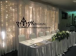 wedding backdrop online 3m 6m wedding backdrop curtain stage background with led lights