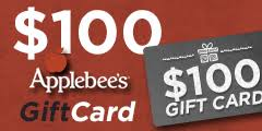 applebee gift card 100 gift card to applebees sweepstakesdaily